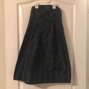 Vineyard Vines strapless holiday dress